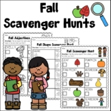 Fall Scavenger Hunts Distance Learning