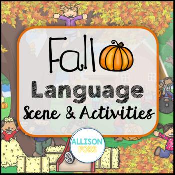 Fall Scene: Expressive & Receptive Language