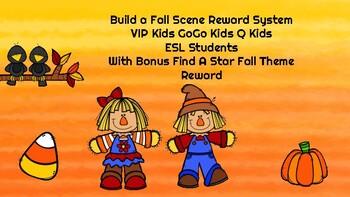 Fall Scene Reward System Online teaching VIP Kid Gogo Kid