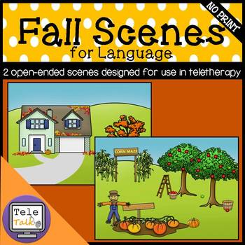 Fall Scenes: Open-Ended Activity for Teletherapy