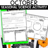 Fall Science Activities for October
