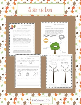 Fall Science Mini Unit: Colorful Chlorophyll