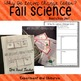 Fall Science Why do Leaves Change Colors, Experiments, Interactive Notebook