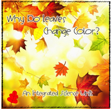 Fall Science FREEBIE~ Why Do Leaves Change Color?