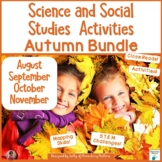 Fall Science and Social Studies Activities and Printables Bundle