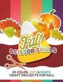 "Fall Scissor Skills: 25 Color, Cut & Paste ""Craftivities"""