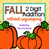 Fall 2-digit Addition (With no regrouping)