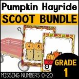 Pumpkin Math Games for Kindergarten and First Grade