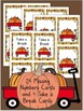 Pumpkin Math Scoot Game/Center For Missing Numbers to 10