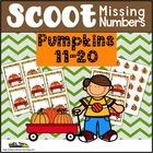 Pumpkin Activities For Missing Numbers 11-20