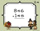 Fall Scoot - 3 digit addition (with carrying)