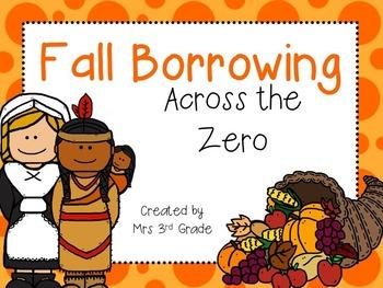 Fall Scoot:  Borrowing Across the Zero