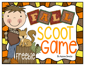 Fall Scoot Freebie!