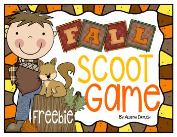 Fall Scoot Freebie!