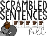 Fall: Scrambled Sentences (Writing Activity)