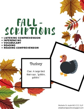 Fall-Scriptions (Thanksgiving)