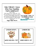 Fall Seasonal Doubles Facts I Have Who Has up to 24