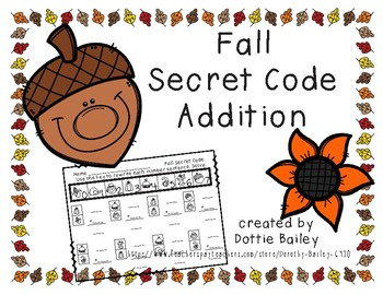 Fall Secret Code Addition