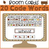Fall Secret Code Words BOOM Cards