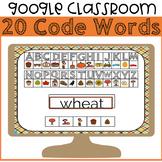 Fall Secret Code Words Google Slides