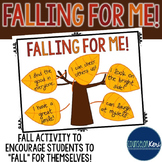Fall Self-Esteem Activity - Elementary School Counseling