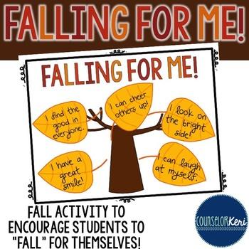 Fall Self-Esteem Activity - Elementary School Counseling