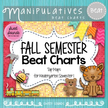 Kindergarten Music Beat Charts {Fall Semester}