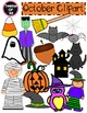 Fall Semester Clipart Bundle {134 pieces}