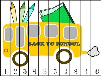 Fall Semester Math Puzzles Bundled