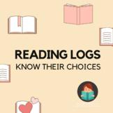 Fall Semester Reading Logs