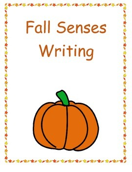 Fall Sense Writing