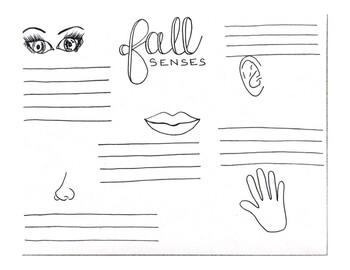 Fall Senses writing