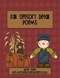 Fall Sensory Detail Poems