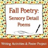 Fall Sensory Details Poems