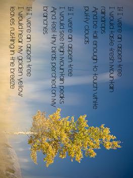 Fall Sensory Poetry