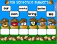 Fall Sentence Builders for Smartboard Set 5 Third Grade Dolch Words
