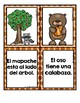 Fall Sentence Matching Center in Spanish (Centros de emparejar oraciones y fotos