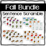 Fall Sentence Scramble Bundle