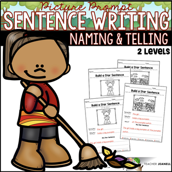 Fall Sentence Structure - Naming and Telling Parts of a Sentence