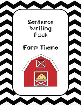 Fall Sentence Writing Bundle