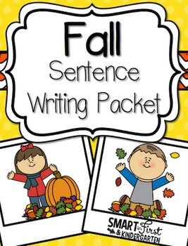 Fall Sentence Writing Packet