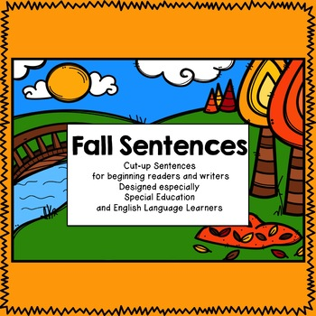 Fall Sentences for Special Education