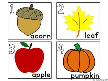 Fall {September & October} Literacy Centers