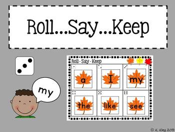 Fall {September & October} Math and Literacy Centers *Bundled*