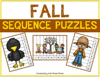 Fall Sequence Puzzles