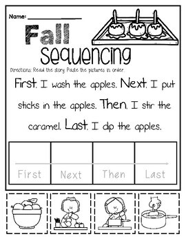 Fall Sequencing Pack