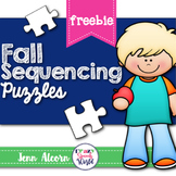 Fall Sequencing Puzzles FREEBIE!