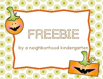 Fall Shape FREEBIE!