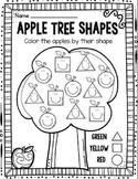 Fall Shape Identification