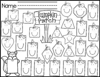Fall Shape Practice